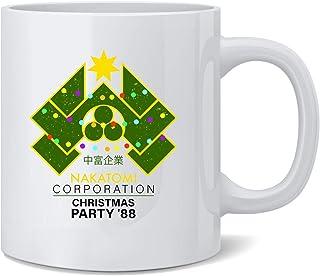 Poster Foundry Nakatomi Plaza 1988 Christmas Party Ceramic Coffee Mug Tea Cup Fun Novelty Gift 12 oz