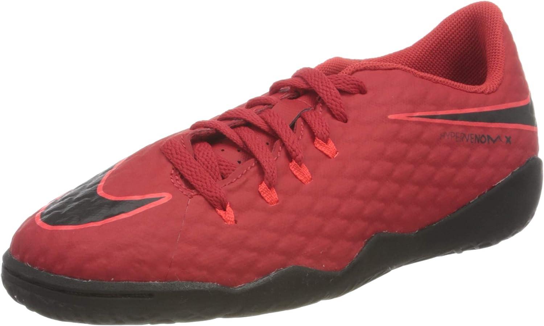 Nike Kids Jr. Hypervenomx Phelon III (IC) Indoor 3 Red
