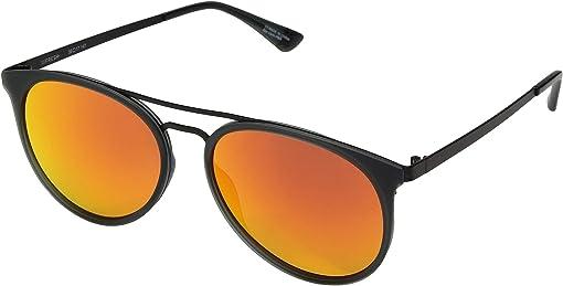 Matte Trans Gray Matte Black/Bronze/Red Orange