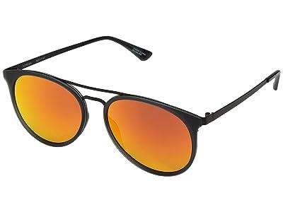 Spy Optic Toddy (Matte Trans Gray Matte Black/Bronze/Red Orange) Fashion Sunglasses