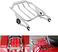 TCT-MT Two Up Air Wing Luggage Rack For Harley Street Electra Road Glide 2009-2019 16