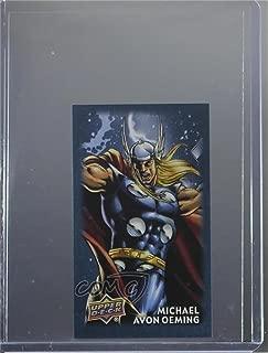 Michael Avon Oeming (Trading Card) 2017 Upper Deck Thor: Ragnarok - Mini Comics Creator Autographs #CCA8