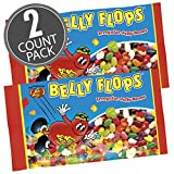 Jelly Belly Belly Flops Jelly Beans - 2 lb. Bag - 2 Pack - Official, Genuine, Straight from the Source