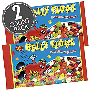 Jelly Belly Belly Flops® Jelly Beans - 2 lb Bag - 2 Pack - Official Genuine Straight from the Source