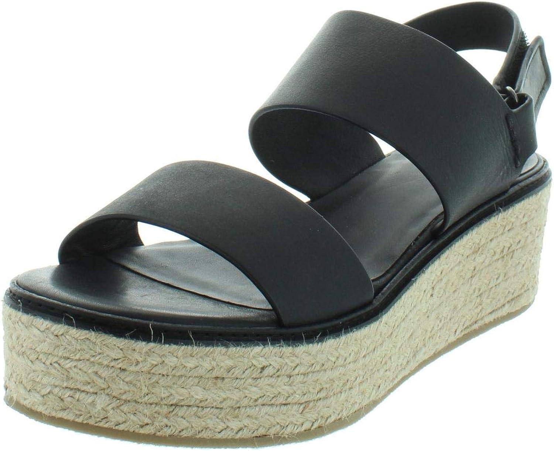 Vince Womens Janet High Casual Platform Sandals