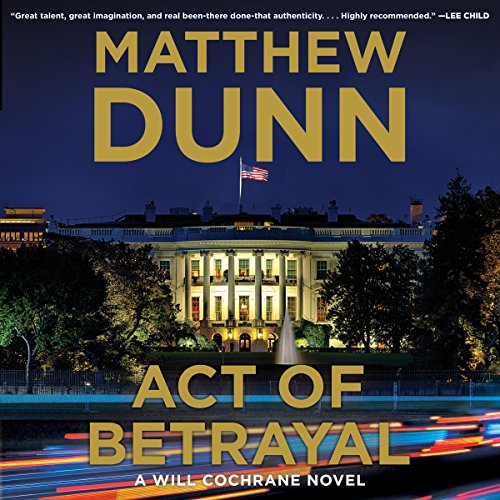 Act of Betrayal audiobook cover art