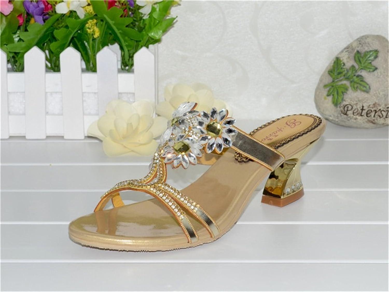Jiang Women's shoes PU Spring Summer Comfort Novelty Sandals Open Toe for Wedding Party & Evening Sandals