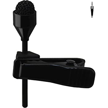 Pro Lavalier Lapel Microphone JK MIC-J 044 Compatible with Sennheiser Wireless Transmitter - Omnidirectional Condenser Mic