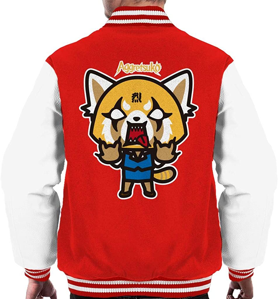 Selling rankings Aggretsuko Rage mart Men's Varsity Jacket
