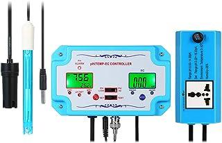 Ajcoflt Detector de calidad del agua 3 en 1 pH/EC/TEMP Contr