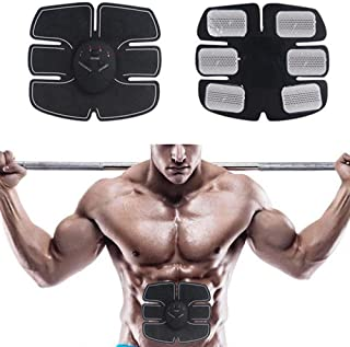 ABS Fitness Muscle Trainer, 2018 EMS Remote Control Abdominal Muscle Trainer Smart Home Exercise Bodybuilding Fitness Elec...