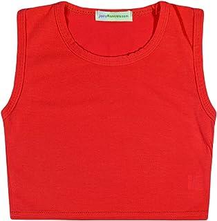 Vest Tank Top Kids Girls Summer  England GB Flag Football  Lion Navy White Red
