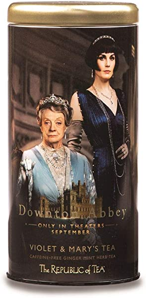 The Republic Of Tea Downton Abbey Violet And Mary S Tea