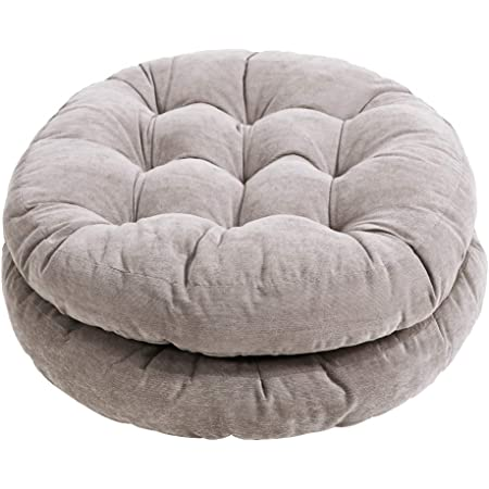 Forest Round Seat Cushions Futon Pouf Papasan Floor Meditation Pillow Seat Back Dinning Chair Cushion for Stool Bar Pad Yoga Indoor Outdoor Booster Padded Patio Pads Balcony Lounge Sofa