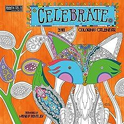 Lang Doodle House Coloring Calendar