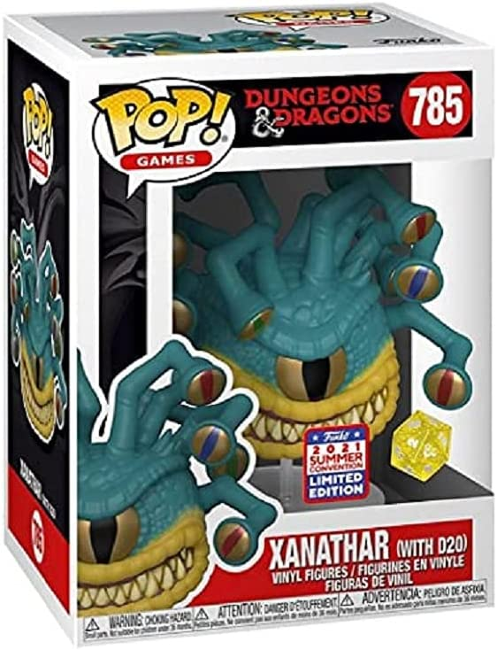 Funko Pop! Dungeons & Dragons Xanathar with D20 Dice from #785 Vinyl Figure...