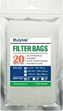 Dulytek Filter Bags, 2 x 3.5 inches, 25 Micron, 20 pcs, Nylon Screen