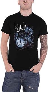 Lamb Of God T Shirt Circuitry Skull Recolor Band Logo Official Mens Black