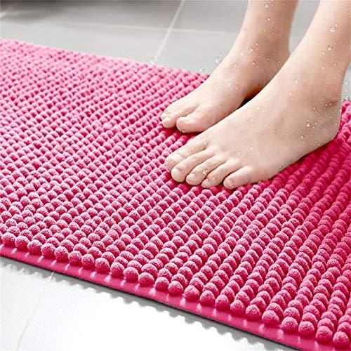 GRZHJK Caterpillar Bath Rug,Soft Shaggy Bath Mat Non Slip Doormat Runner,Water Absorbent Plush Shower Rug Tub Bathroom Kitchen Machine Washable Floor Carpet