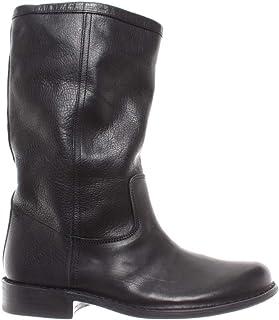 Desert Boots Damen Stiefel Nappaleder Schwarz Echt Leder  35-43