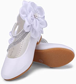 Girls Dress Shoes Models Flower Princess Shoes PU Leather Korean Students Baby Party Shoes for Children