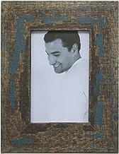 Porta Retrato Agata Demolição Para Foto, Kapos, Azul, 15 x 10 cm