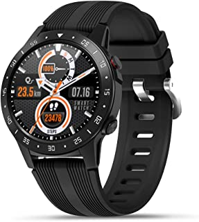Smart Watch GPS Smart Watch Fitness Tracker with Blood Pressure Heart Rate Sleep Monitor Multisport GPS Running Watch for Man Woman, Smartwatch for Android iOS Phone Full Touch Screen Waterproof Watch