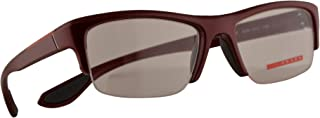 Prada VPS 04E Eyeglasses 53-18-145 Metalized Bordeaux Semi Shiny w/Demo Clear Lens SME1O1 PS 04EV PS04EV VPS04E