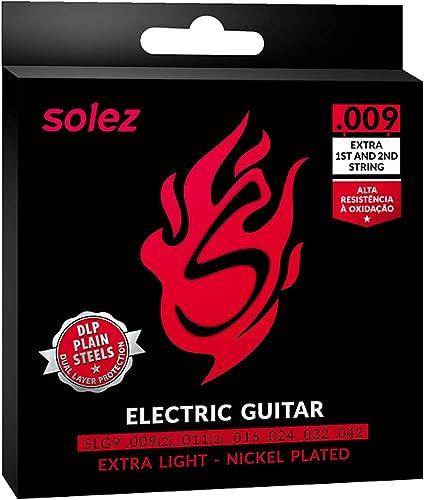Encordoamento Guitarra DLP Solez SLG9 009