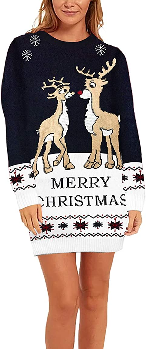 Sovoyontee Women's Cute Limited Special Price Funny Special sale item Hilarious Christmas D Sweater Ugly