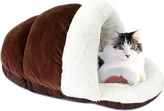 ASPCA Cuddle Cocoon Cat Cave Pet Bed