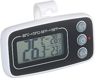 Higrómetro para Interior Termómetro de refrigerador digital Congelador Frigorífico Habitación Termómetro Medidor de temper...