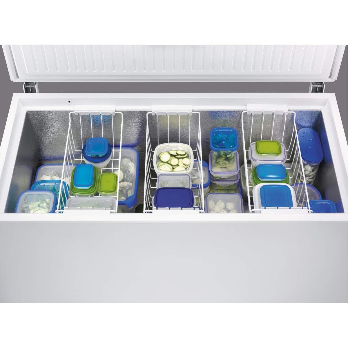 Zanussi ZFC31400WA Arcón congelador, 300 litros, Blanco: 346.64 ...