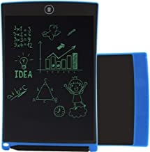 LCD Writing Tablet Electronic Graphic Drawing Board Durable Handwriting Pad with Stylus Digital Rewritten Drawing Board Tablet Gift for Kids School Office Kitchen Memo and Taking Notes 8.5 Inch Blue