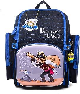 Backpack - Mochila para niña, niña, mochila infantil, mochila escolar pirata talla única