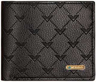 BeniNew soft leather crossing 20% off wallet male-black