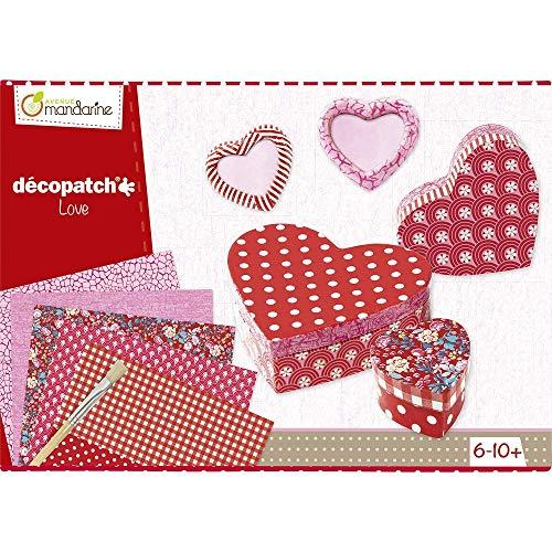 Avenue Mandarine 42718O - Kreativboxen - Decoptach - Liebe Kit