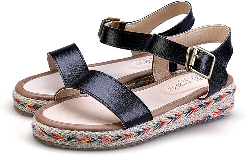 Believed Casual Beach Sandals Women Breathable Mesh Platform Sandals Woman Summer Open Toe shoes