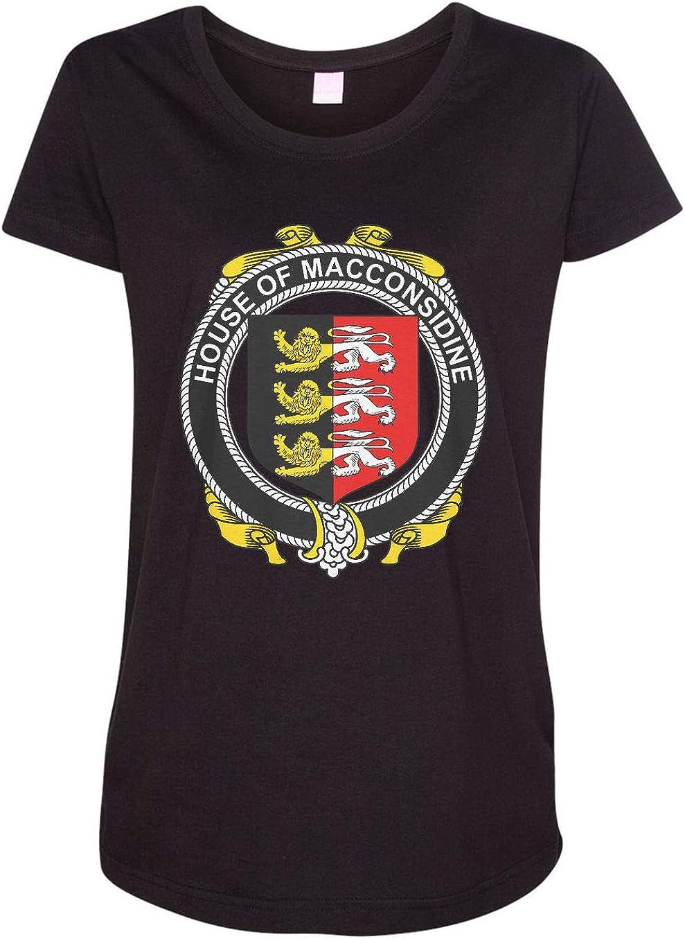 HARD EDGE DESIGN Women's Irish House Heraldry Macconsidine T-Shirt
