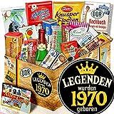 Legenden 1970 ++ 50. Gebutstag Geschenk Box ++ Süßigkeiten Set DDR