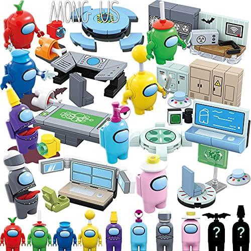LEEPED Among Us Toys Figures (2021 New Edition Blocks) The Best Gift for Kids Who Like Among us