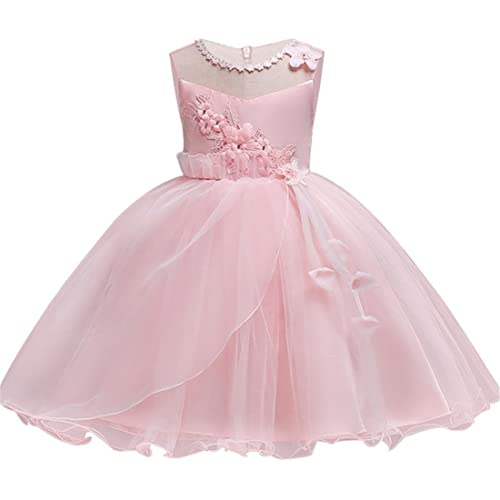 cd62222160b897 KISSOURBABY 2-9 T Little Girls Wedding Party Pageant Dress