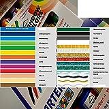 Window Color 16er Set aus 27 Farben frei wählbar 16x80ml