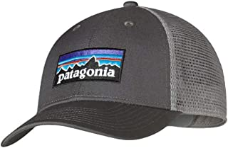59679e34 Patagonia P-6 LoPro Trucker Hat (Forge Grey)