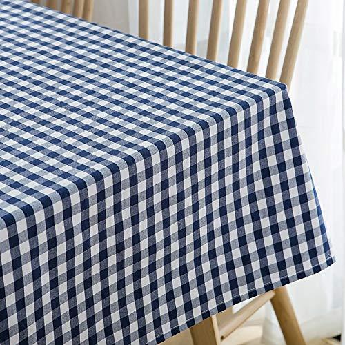LUNANA tafelkleed, vuilafstotend, vlekwerend, rechthoekig, voor de keuken, rechthoekig, voor eettafel, 130 x 180 cm