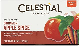 Celestial Seasonings Cinnamon Apple Spice Tea Bags - 20 ct - 6 pk