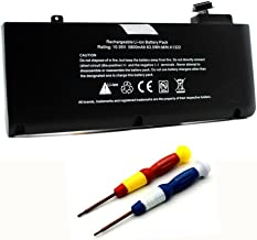 Tigervivi A1322 Battery for MacBook Pro 13 Inch Unibody A1278 (Mid 2009 Mid 2010 Early 2011 Late 2011 Mid 2012 Version) MB990LL/a MB991LL/a fits:661-5557 661-5229 (Li-Polymer 10.95v 63.5wh)
