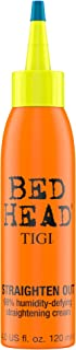 TIGI Bed Head Straighten Out - 98% Humidity-Defying Straightening Cream by TIGI for Unisex - 4 oz Cream, 120 milliliters