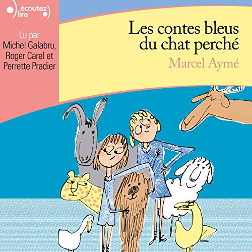 Contes bleus du chat perché audiobook cover art