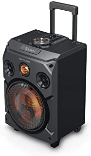 Muse M-1915 DJ 150 W Trolley Public Address (PA) System Negro - Sistemas de megafonía (150 W, Trolley Public Address (PA) System, Negro, Madera, LED, Inalámbrico y alámbrico)